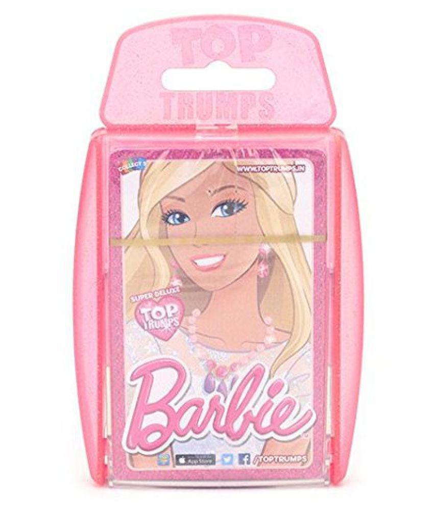 Top Trumps Super Deluxe Barbie, Multi Color