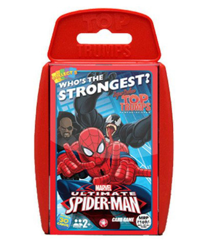 Top Trumps Super Deluxe Spiderman, Red