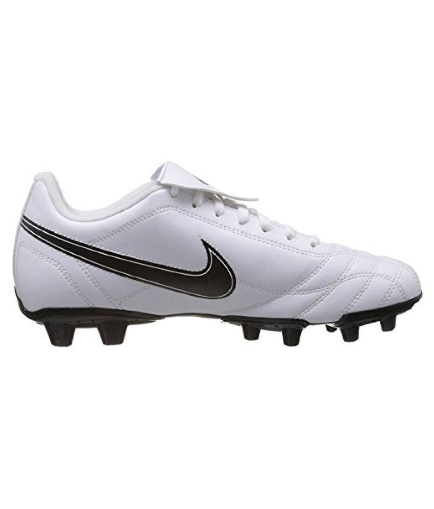 outlet store ba4b2 c5257 ... Nike Men s Egoli Fg White,Black Football Boots -11 UK India ...