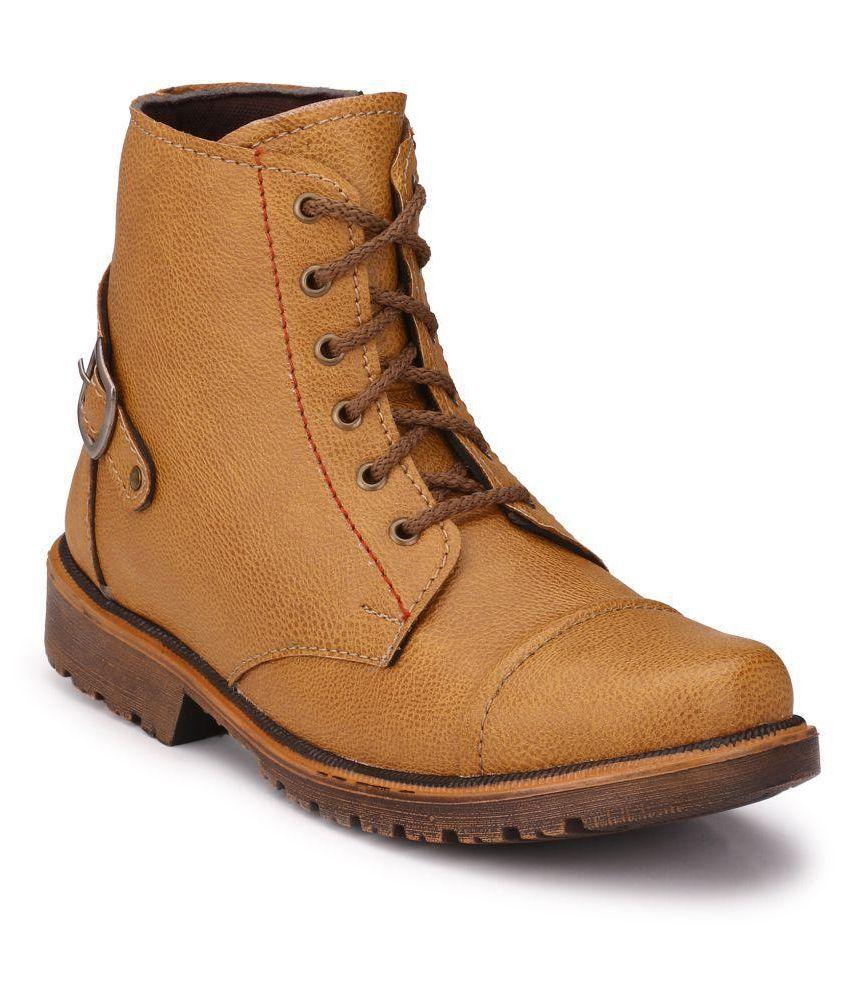 Big Fox Beige Casual Boot