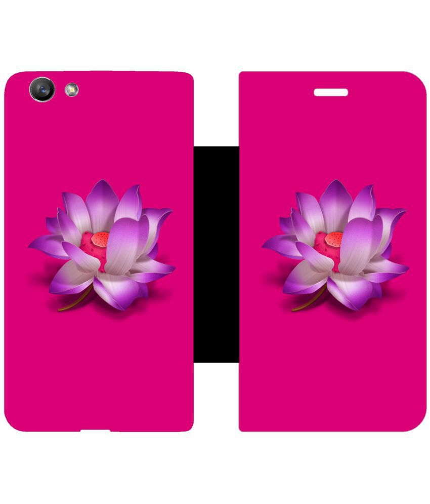 Oppo F1s Flip Cover by Skintice - Purple