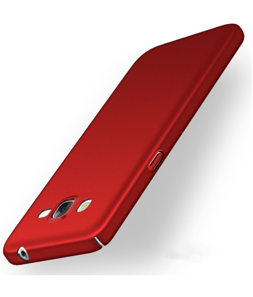 hot sale online 16f3c 01ef2 Samsung Galaxy j2 Plain Cases Sami - Red