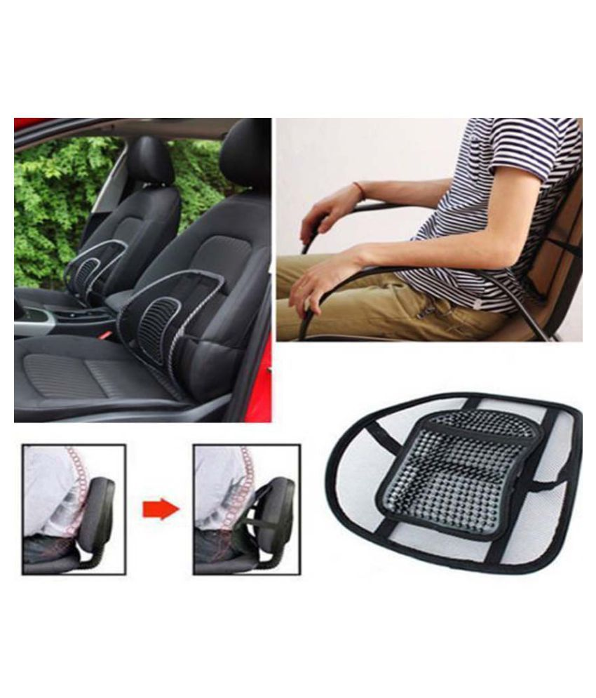 Atmospher ATMOSPHERE Support Back Rest Car Seat Cushion Chair Free Size