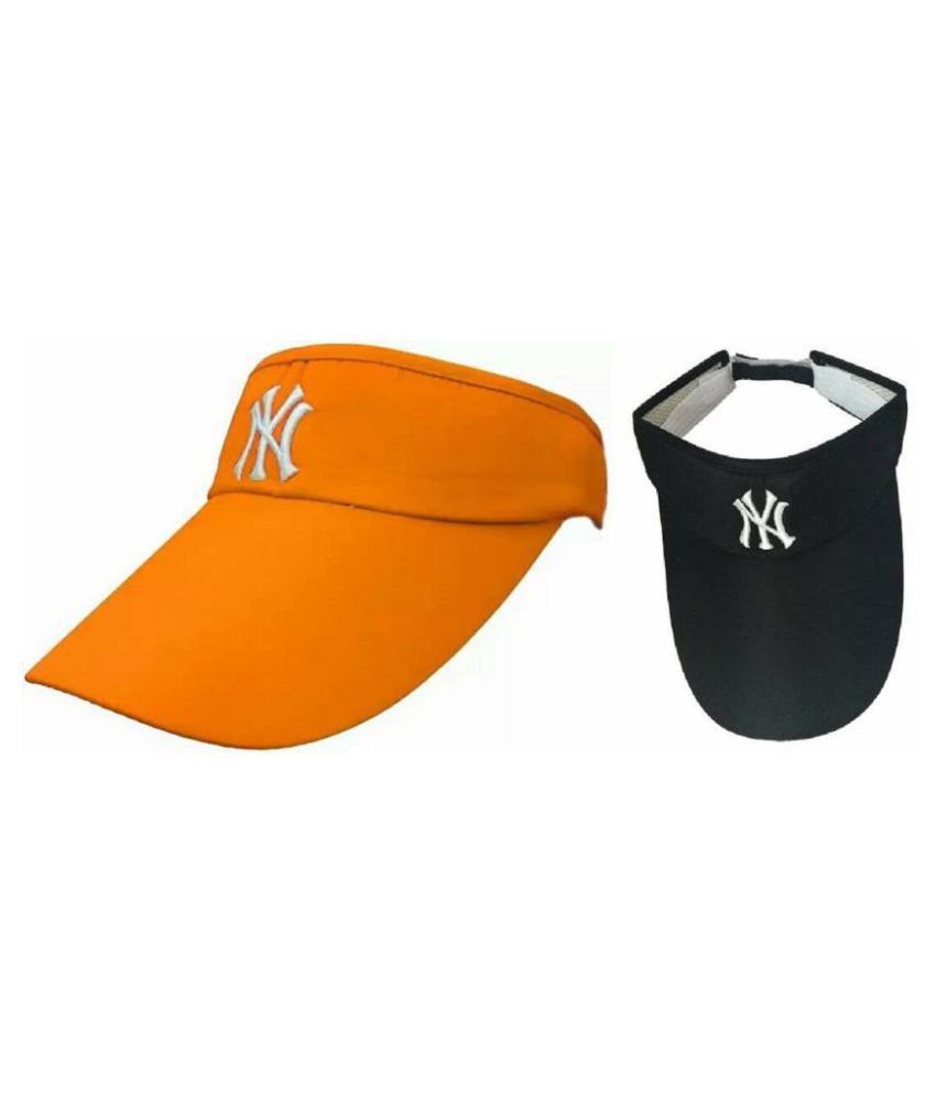 Orange Sunvisor And Black Sunvisor Protect You From Sun Rises Pack Of 2 Cap  (Pack of 2)  Buy Online at Low Price in India - Snapdeal 5a1aaaaff7f