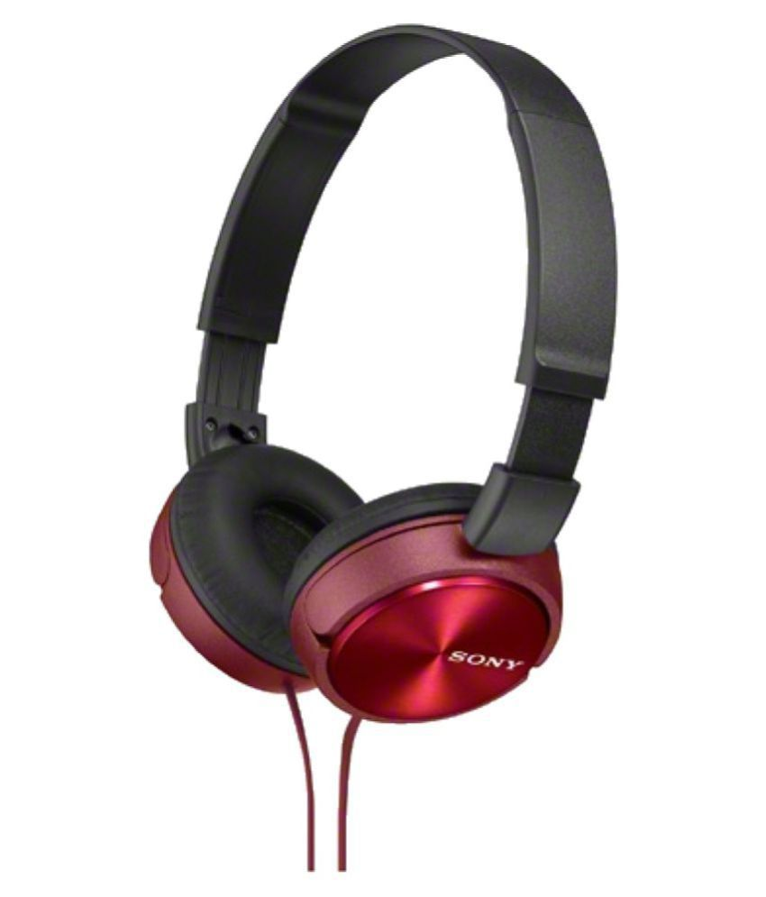 Sony ZX310A Foldable Over Ear Wired Without Mic Headphones/Earphones