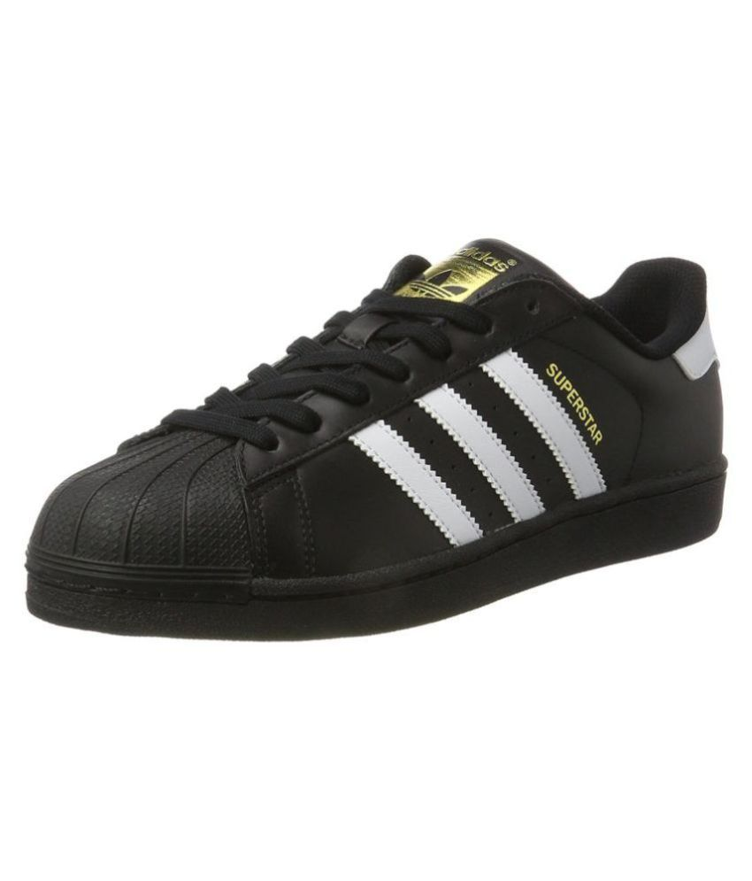 new product first look usa cheap sale Adidas Superstar Lifestyle Black Casual Shoes