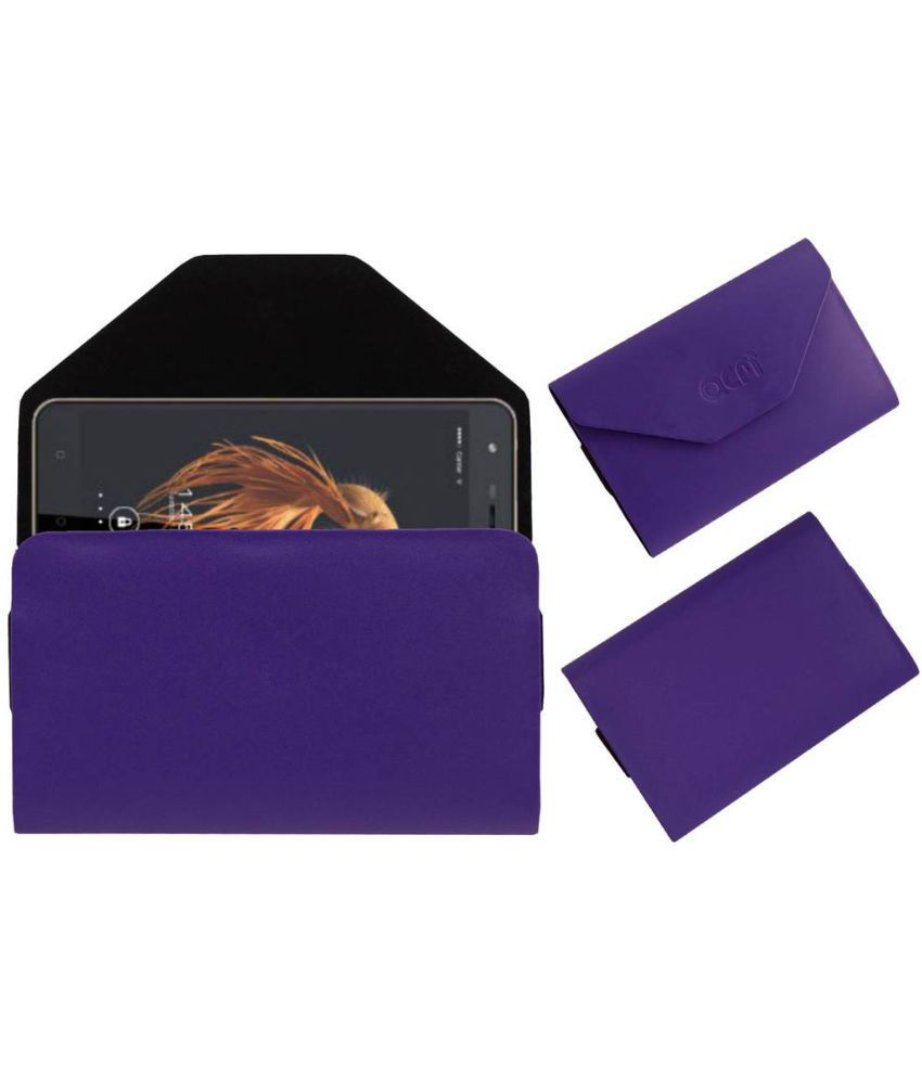 KARBONN AURA NOTE 4G Holster Cover by ACM - Purple