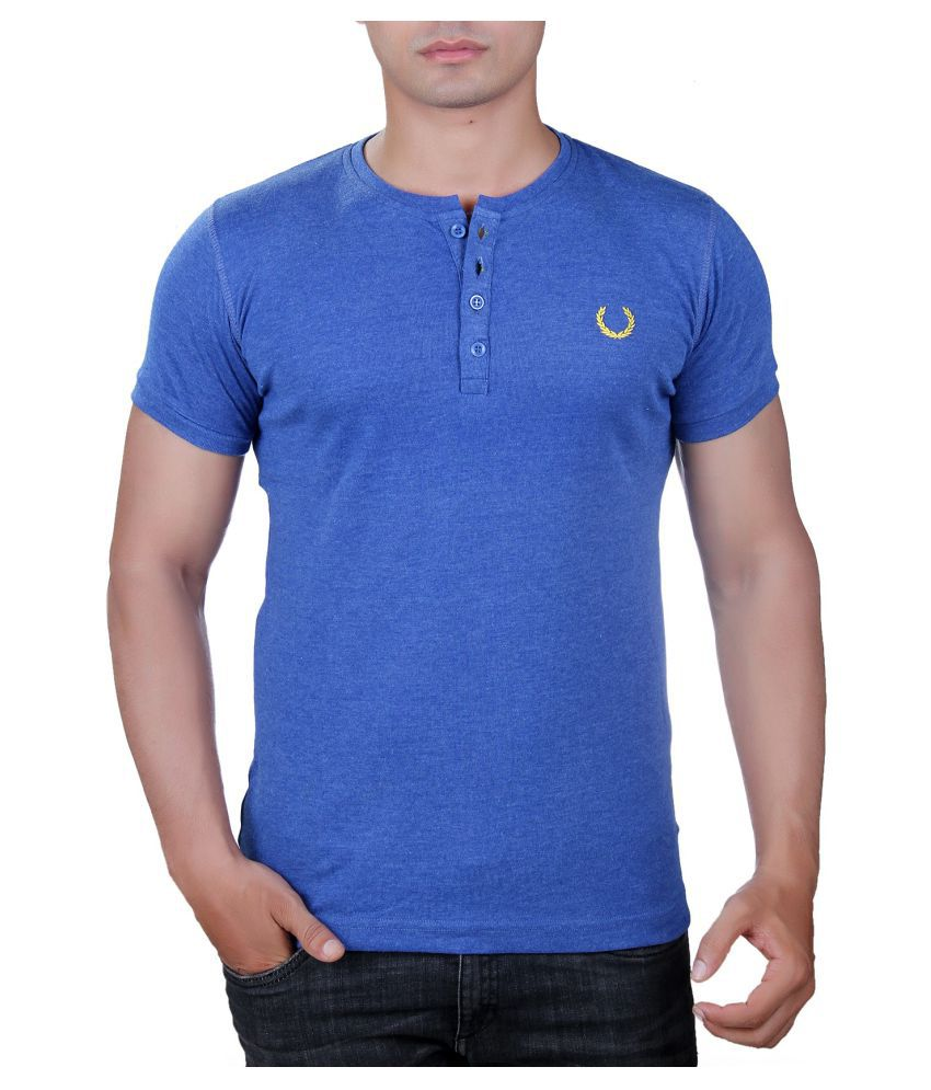 Finger's Blue Henley T-Shirt