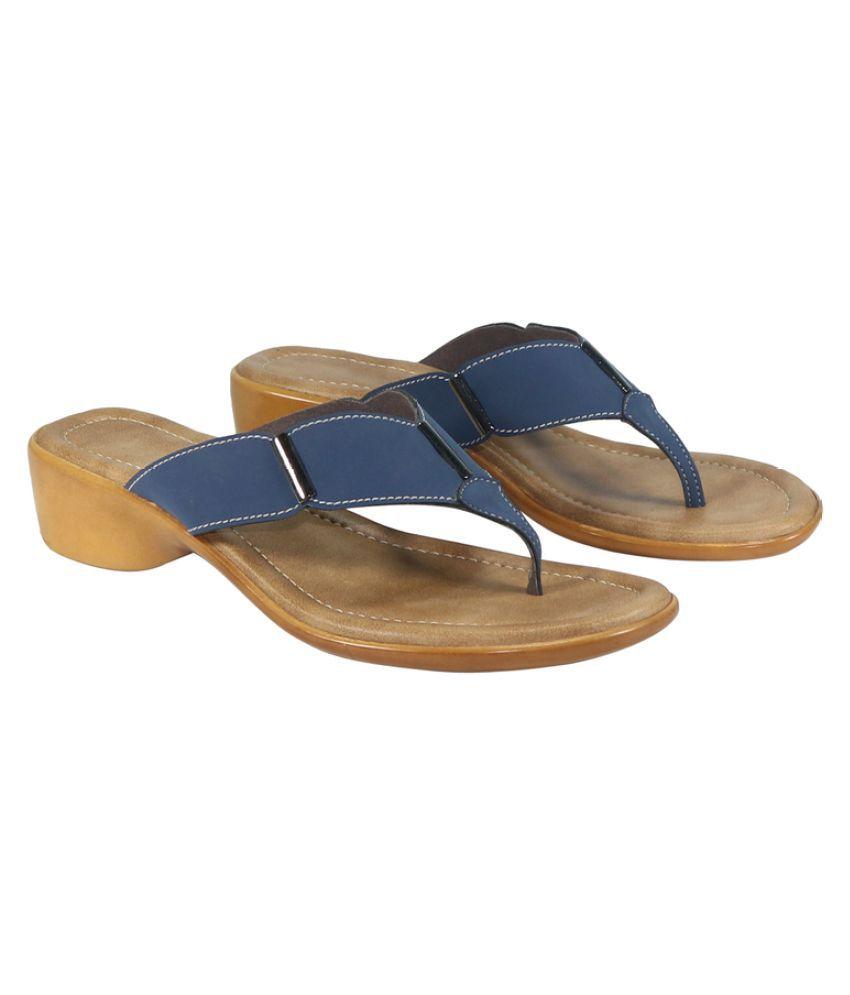Habit Blue Block Heels