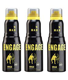 engage man is urge collection 150 ml {pack of 3}