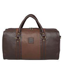 Celestial Horse Brown Solid Duffle Bag