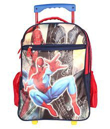 Handcuffs Red Polyester Trolley Backpack