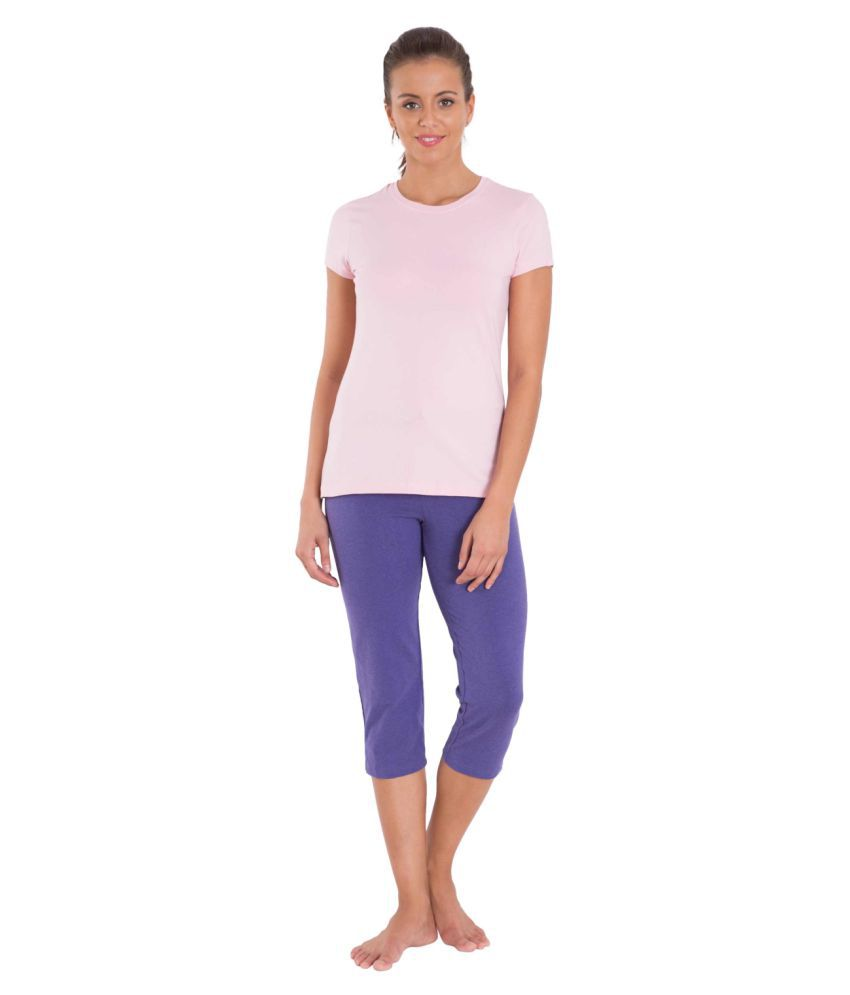 052a40a1d Buy Jockey Cotton Night Capris Online at Best Prices in India - Snapdeal