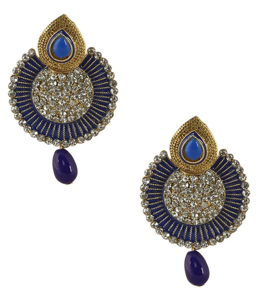 Penny Jewels Antique Wedding Simple Designer Fancy Stylish Earrings Set For Women & Girls