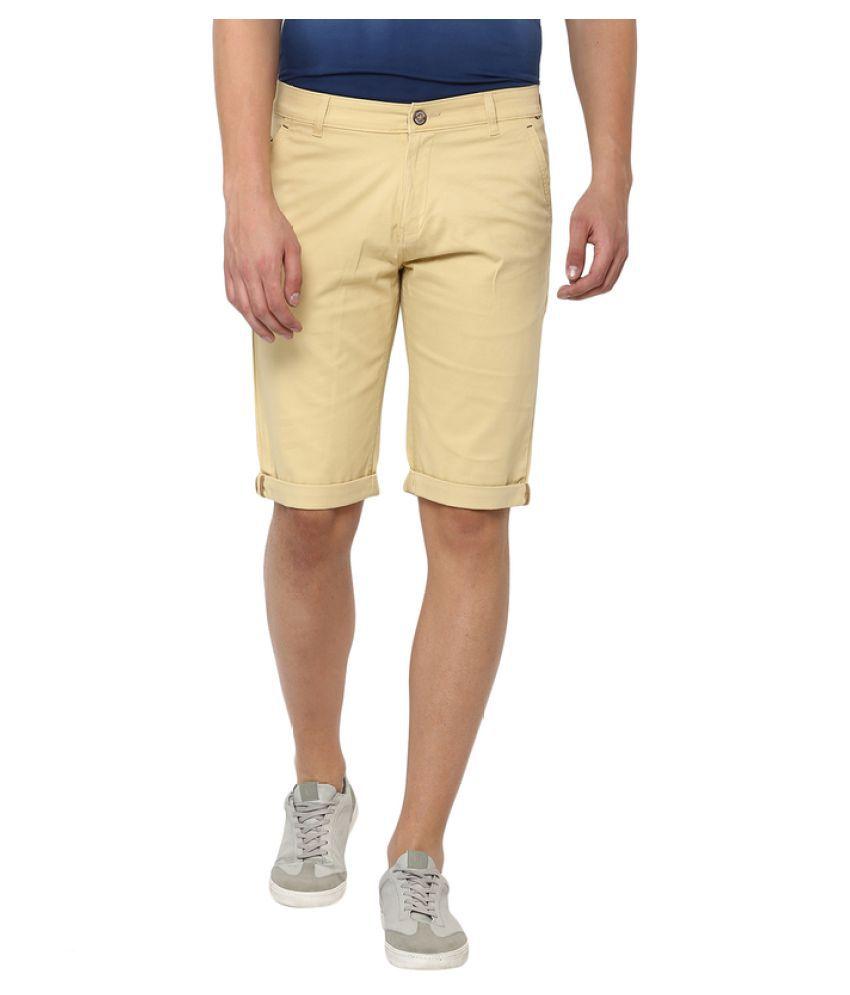 Crimsoune Club Beige Shorts
