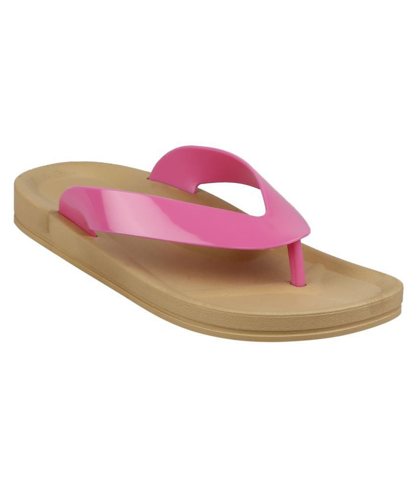 Flipside Pink Slippers