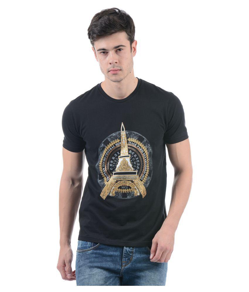 Monte Carlo Black Round T-Shirt