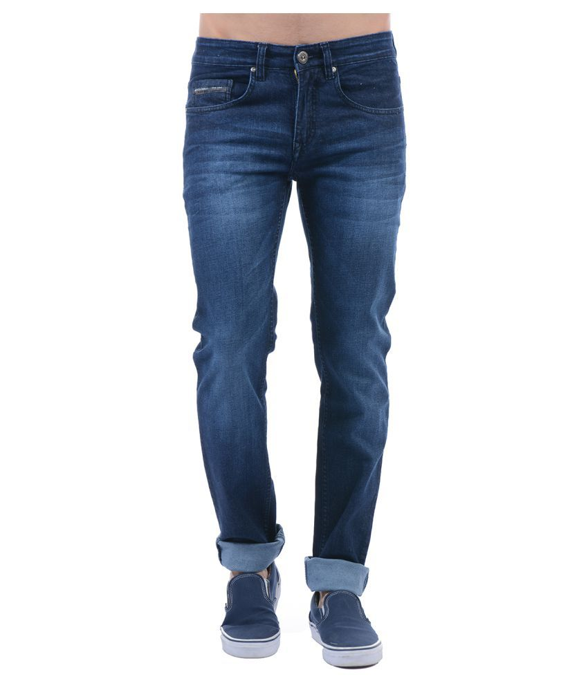 Monte Carlo Blue Skinny Jeans