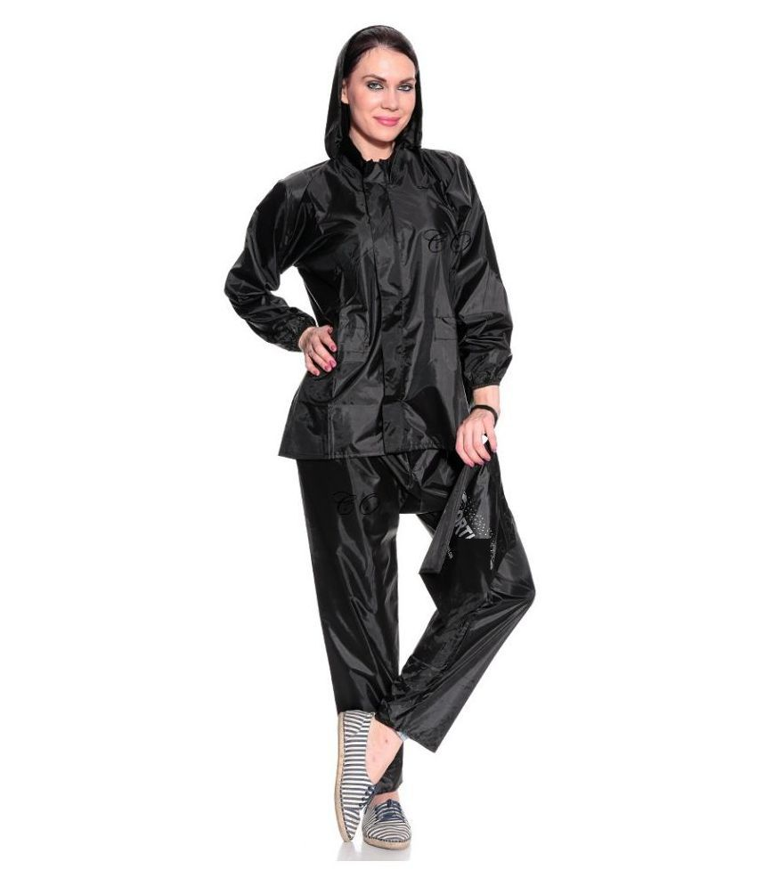 Civil Outfitters Nylon Raincoat Set