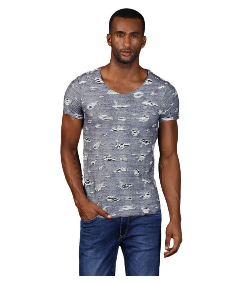 MKH Blue Round T-Shirt