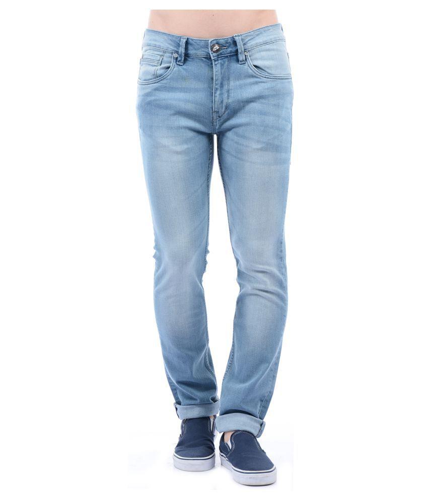 Ed Hardy Light Blue Slim Jeans