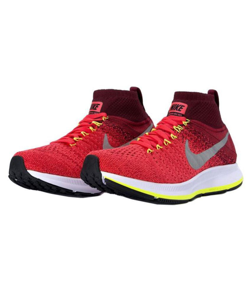 0e2877550188a Nike AIR ZOOM PEGASUS ALL OUT FLYKNIT Running Shoes - Buy Nike AIR ZOOM  PEGASUS ALL OUT FLYKNIT Running Shoes Online at Best Prices in India on  Snapdeal