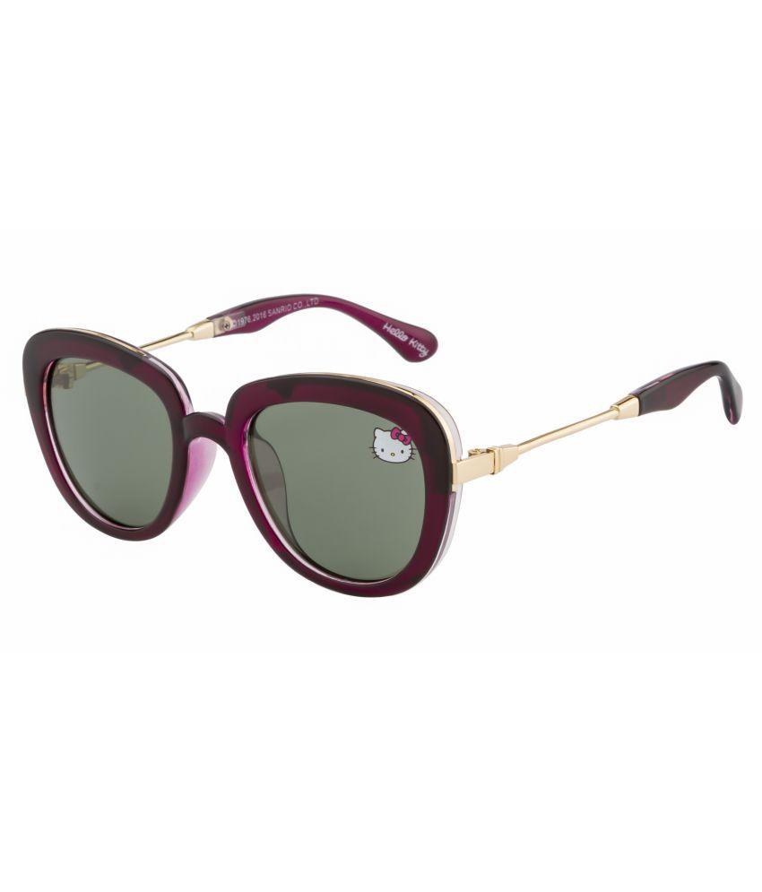 Hello Kitty Green Cat Eye Sunglasses ( HK-B-009 )