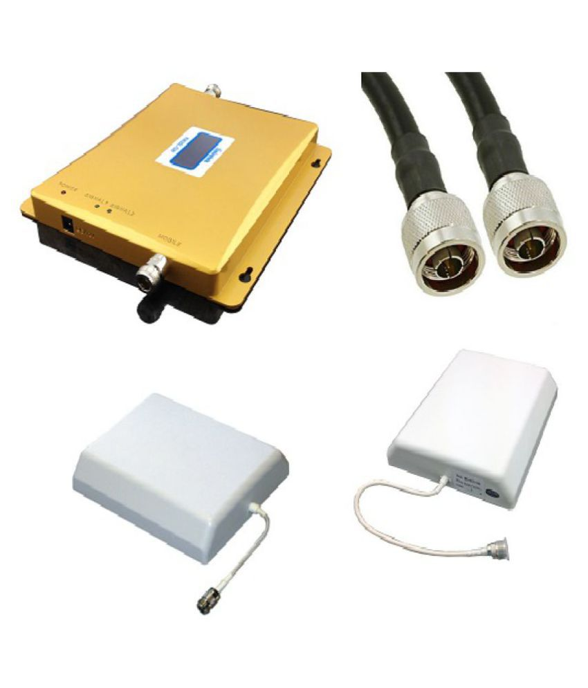 Lintratek KW20L-GD All Operator Mobile Cell Signal Booster 3200 RJ11 White