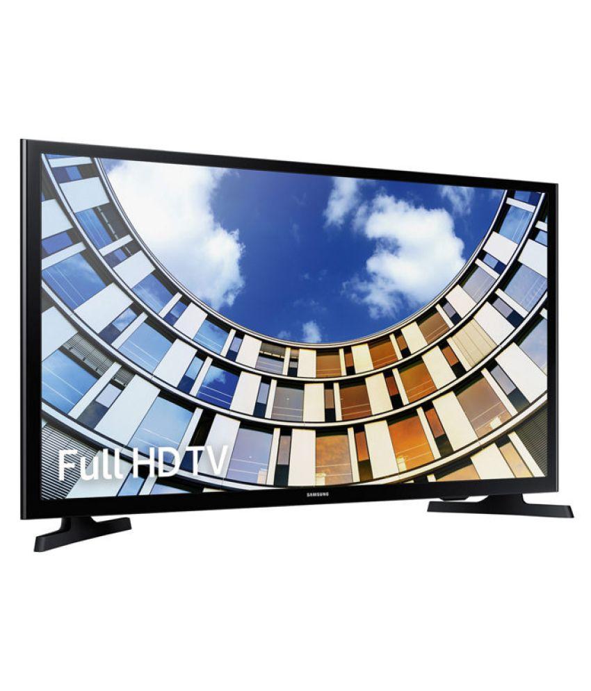 buy samsung 49m5000 123 cm 49 basic smart full hd fhd led television online at best price. Black Bedroom Furniture Sets. Home Design Ideas