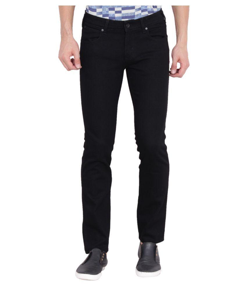 Wrangler Black Slim Jeans