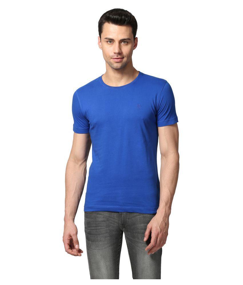 Goat Blue Round T-Shirt