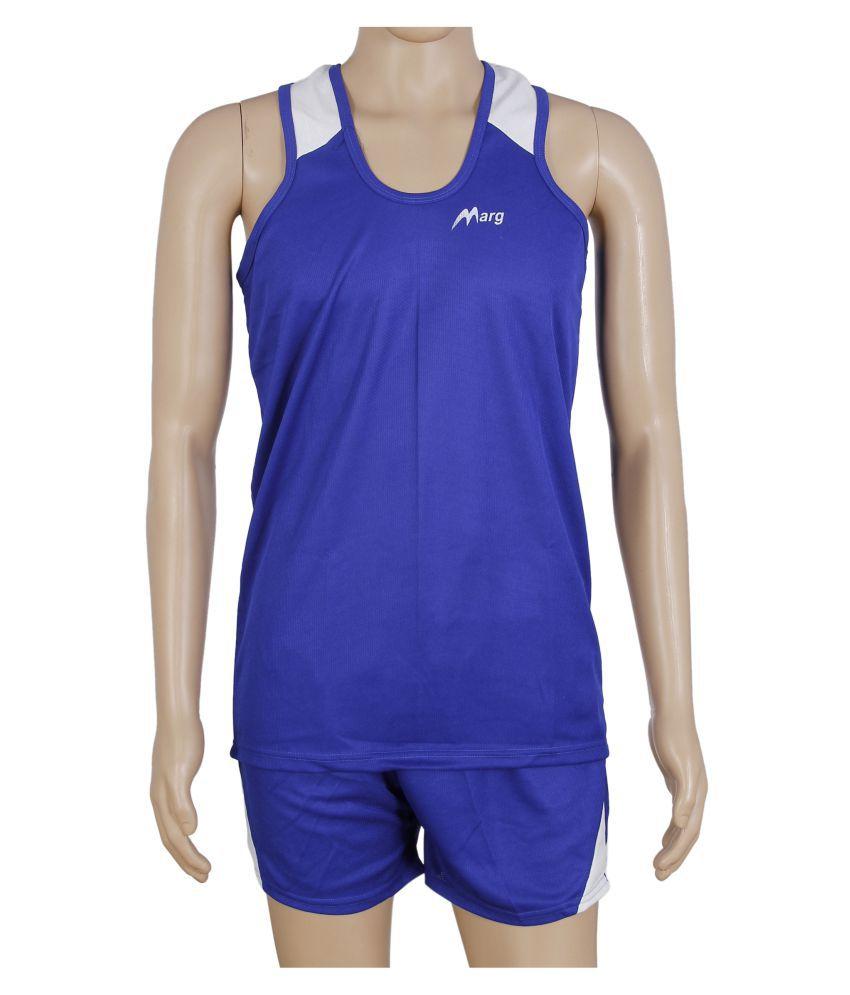 RetailWorld Blue Polyester T-Shirt Single Pack