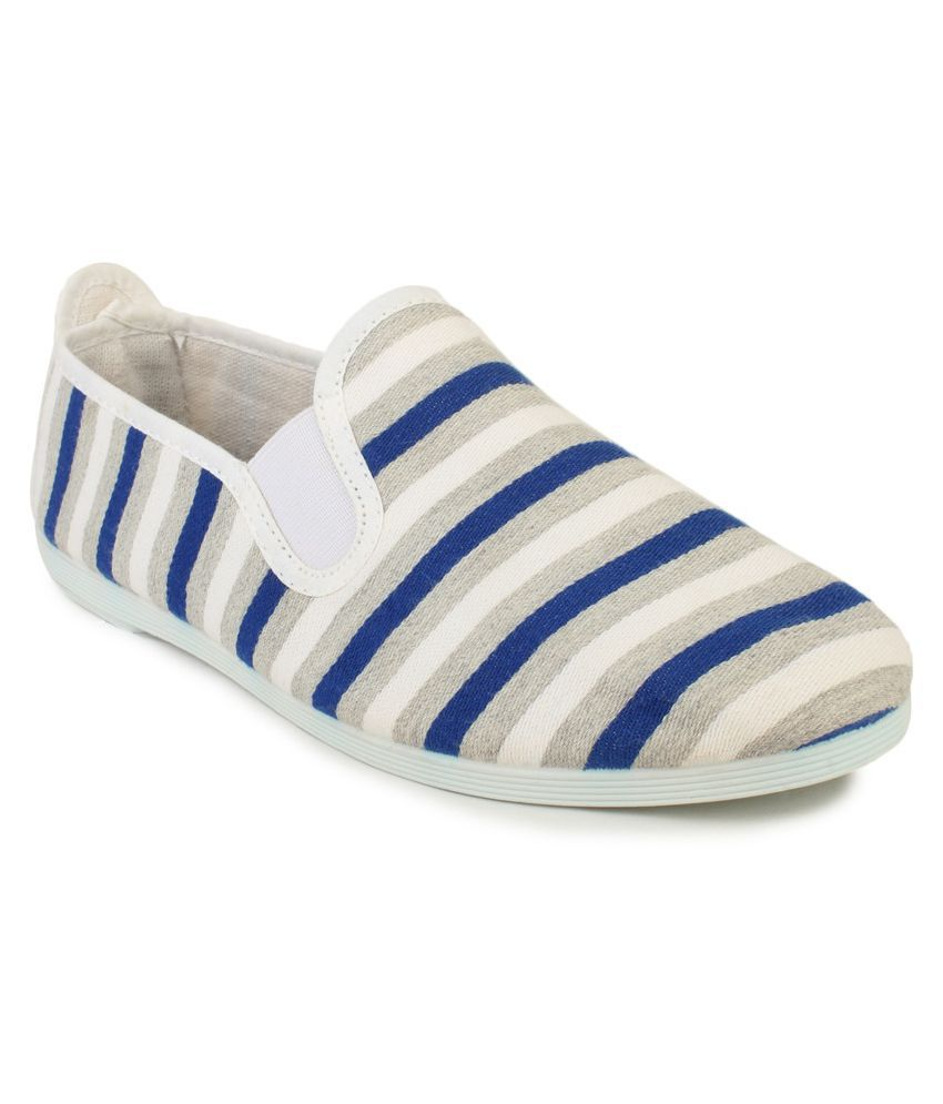 Scentra Blue Casual Shoes
