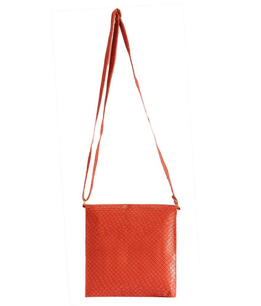 candy vines Brown Faux Leather Shoulder Bag