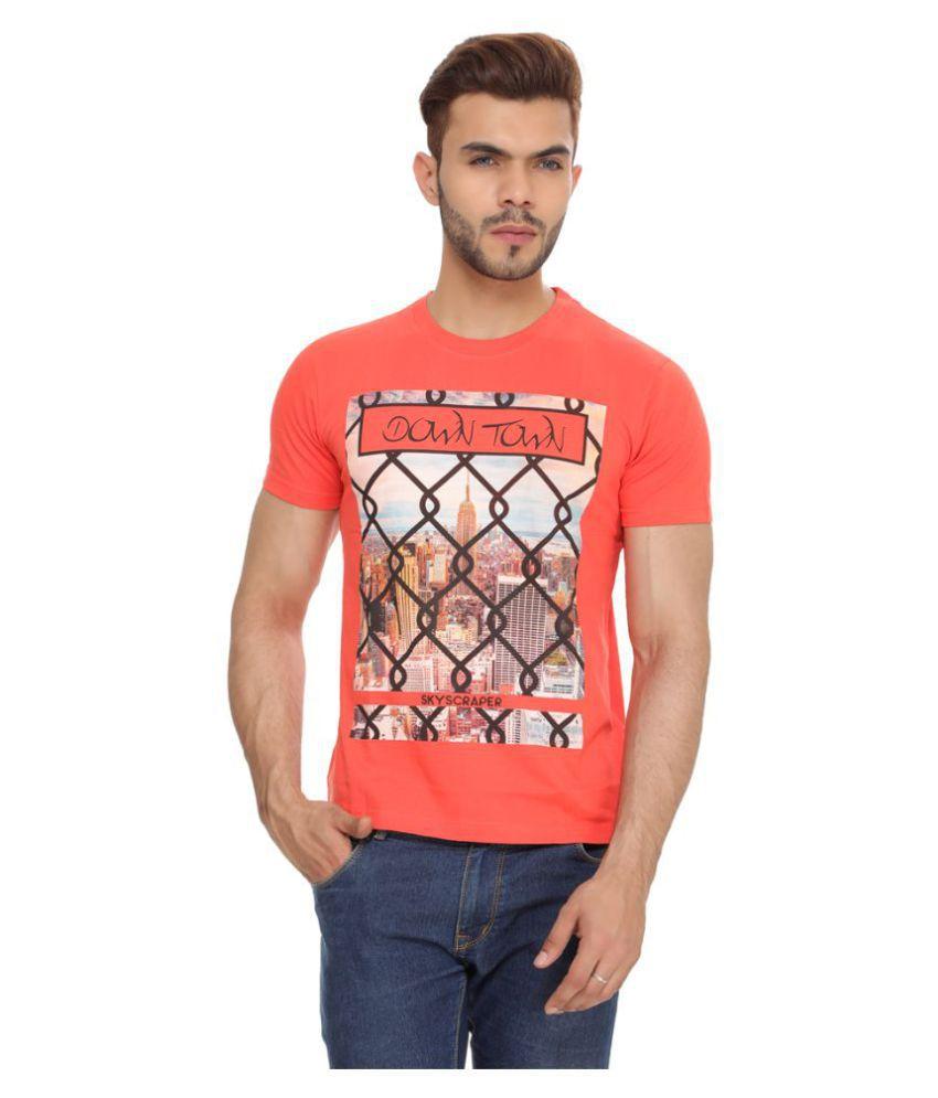 TT Orange Round T-Shirt