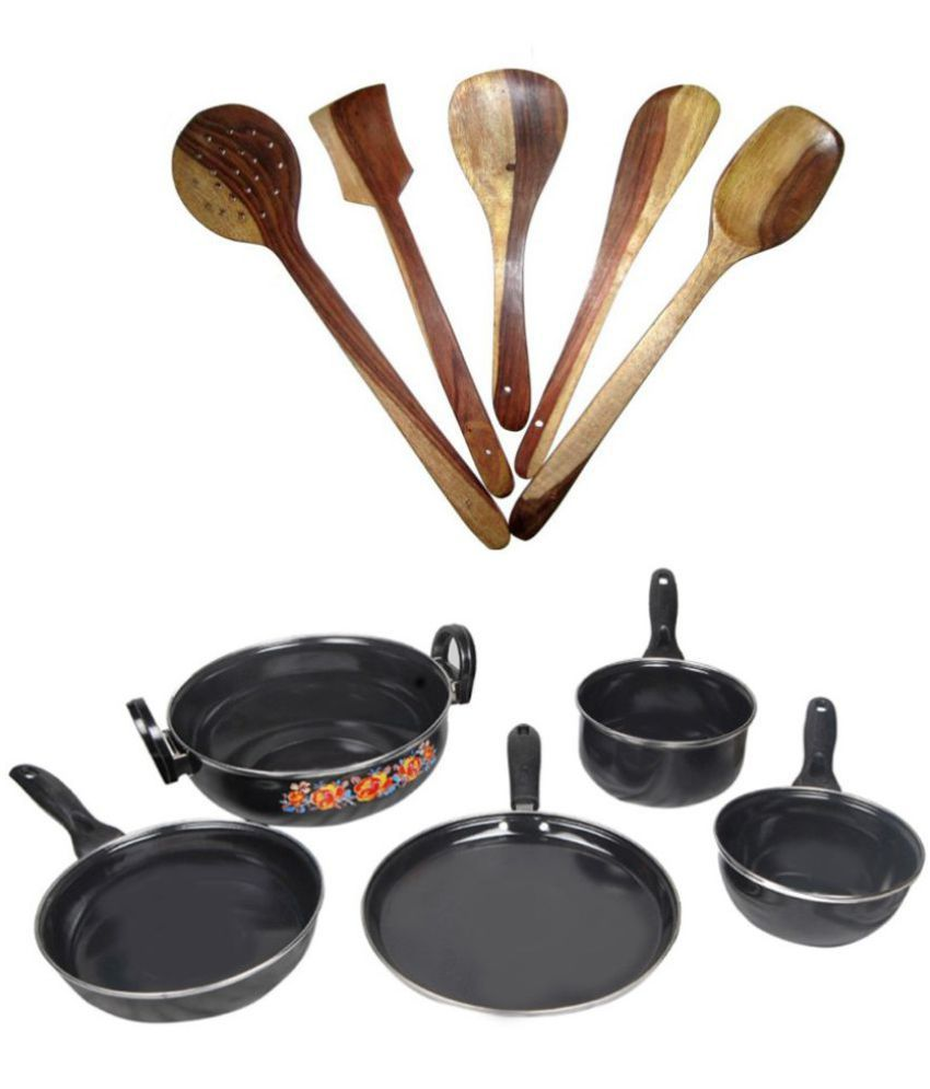 Blooming India 5 Piece Cookware Set