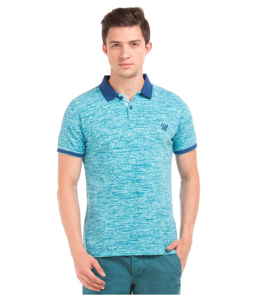 Breakbounce Blue Round T-Shirt