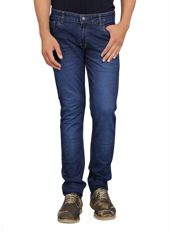 Benzora Blue Straight Jeans