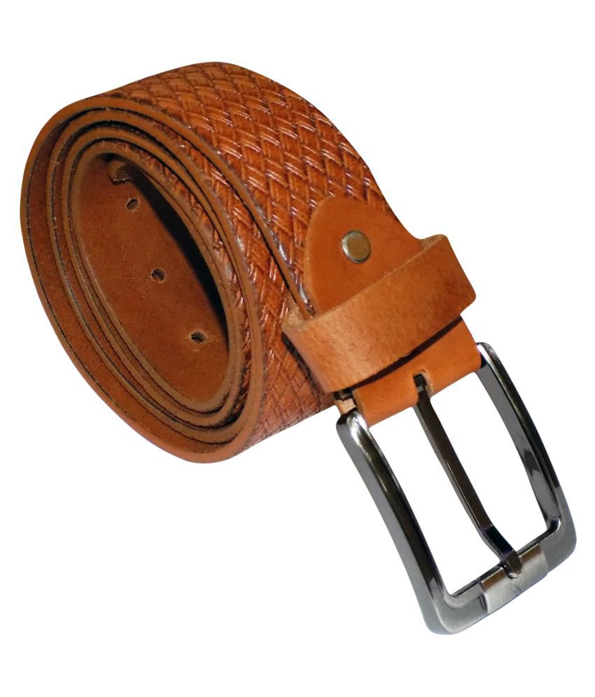 Style 98 Brown Leather Formal Belts