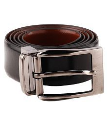 Woodland Scenics Black Leather Formal Belts