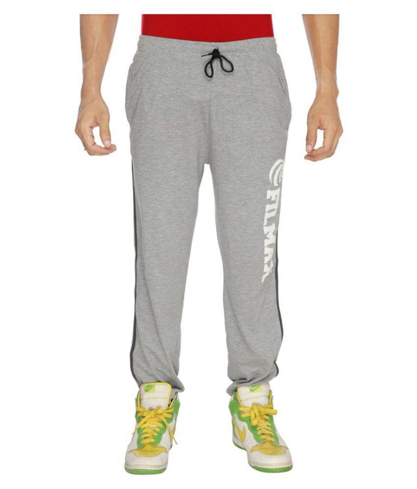 Filmax Grey Cotton Trackpants