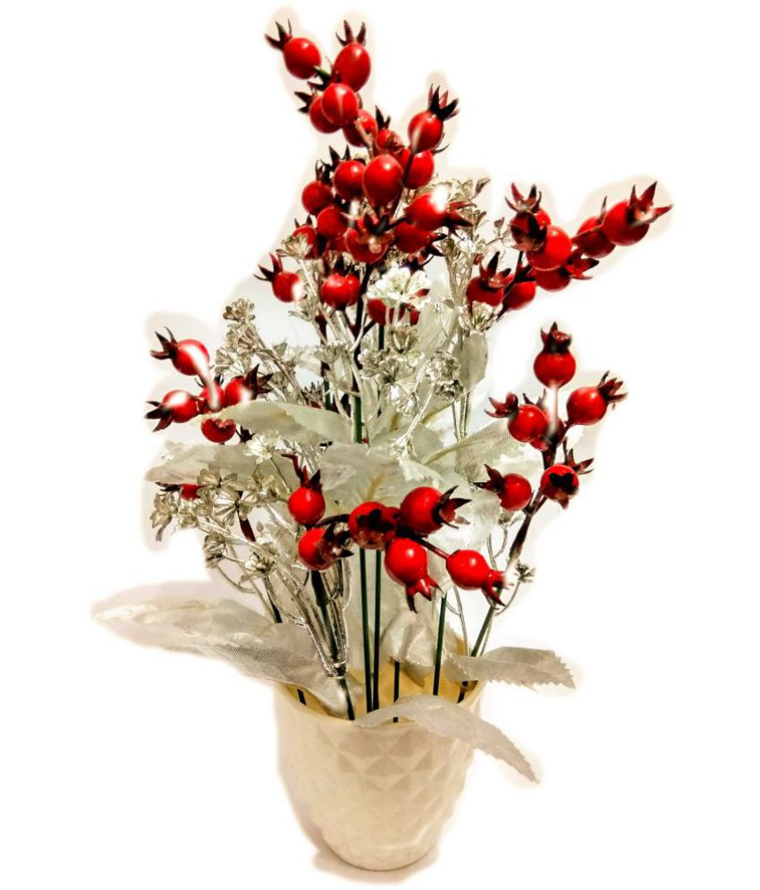 Harshit enterprises poppy flowers with pot red pack of 1 buy harshit enterprises poppy flowers with pot red pack of 1 mightylinksfo
