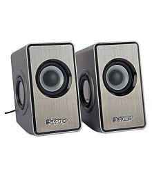5 CORE MMS-04 Grey Laptop/Mobile Speaker Portable Speaker