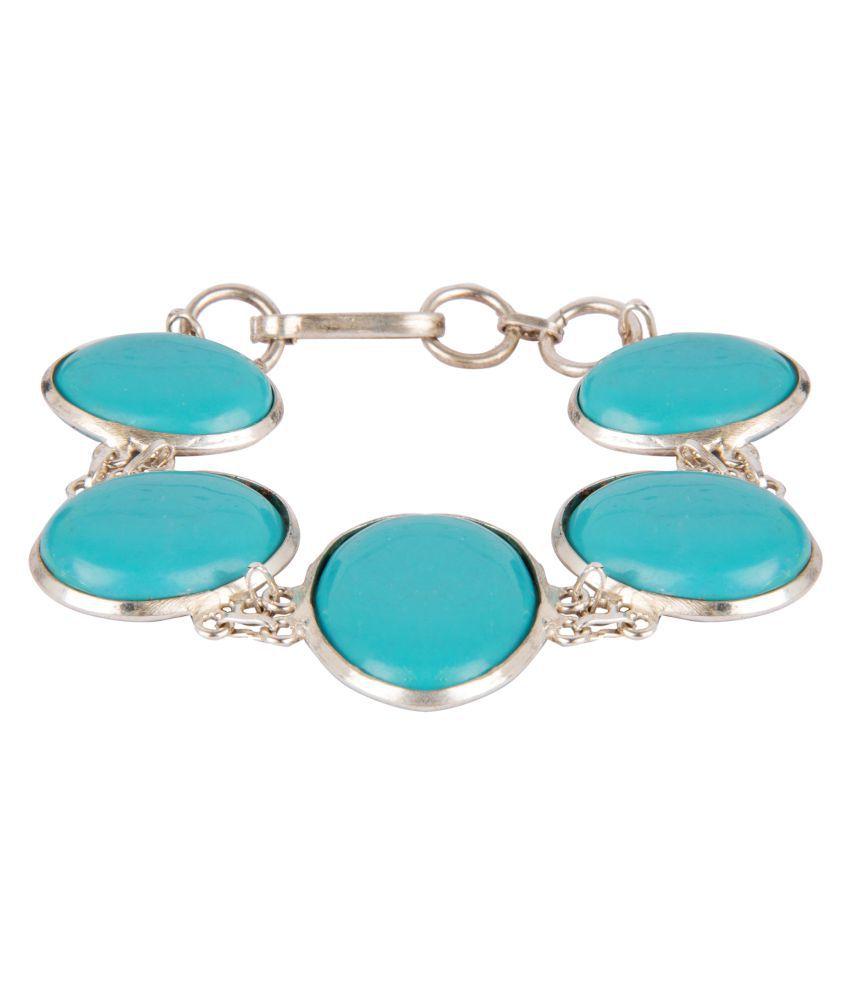 Diva Walk blue alloy  bracelet