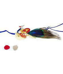 Sakhi Styles Styles Designer Rakhi Multicolour Single Rakhi Pack Of 1