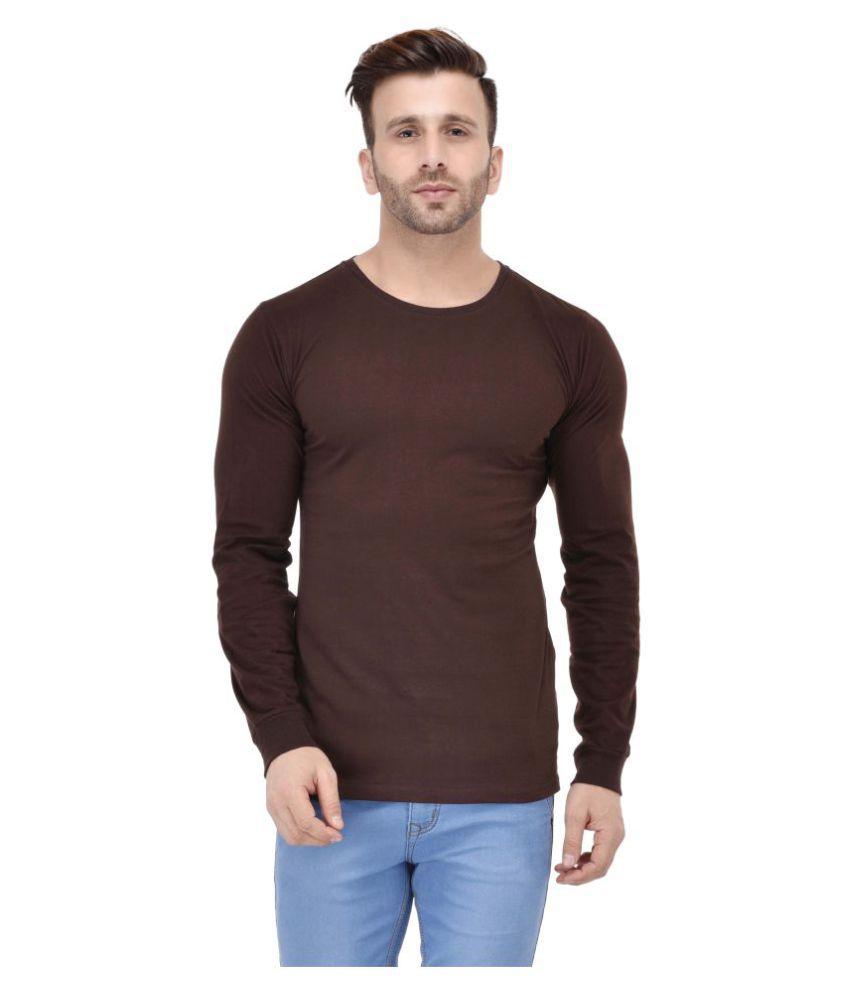 Acomharc Inc Brown Round T-Shirt