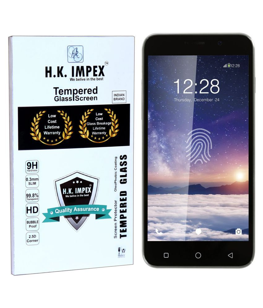 Coolpad Note 3 Lite Tempered Glass Screen Guard By H.K.Impex