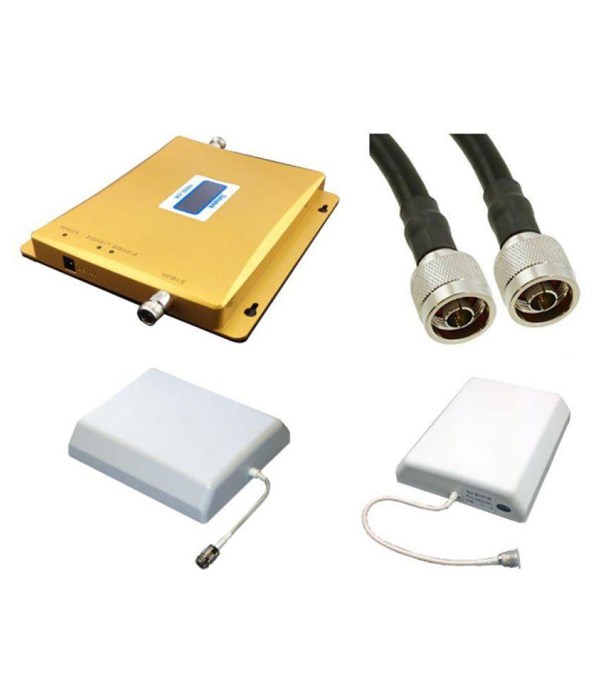 Lintratek KW20L-GW 900-2100Mhz Dual Band Repeater 1600 RJ11 White