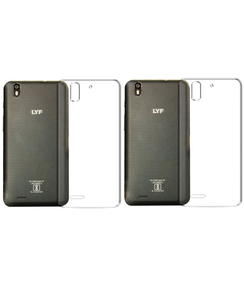newest 55c1d 398be Lyf Water F1 Soft Silicon Cases Deltakart - Transparent