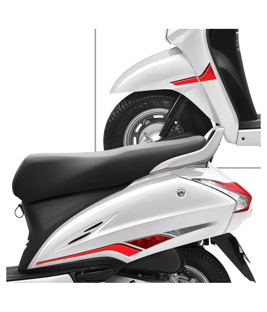 Autographix Honda Activa 4g Express Scooter Graphic Set
